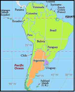 ARGENTINA - Where is argentina